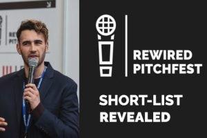 Rewired Pitchfest finalists